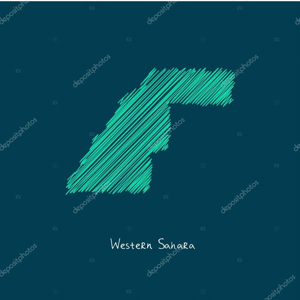 Image of: World Map Illustration Vector Western Sahara Premium Vector In Adobe Illustrator Ai Ai Format Encapsulated Postscript Eps Eps Format