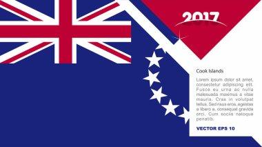 Cook Islands national flag logo