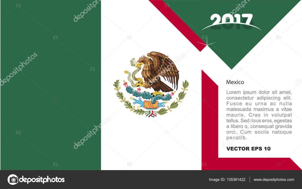 Logo Drapeau National De Mexico Image Vectorielle Ibrandify