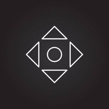adjust window arrows icon
