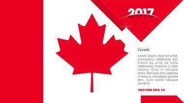 Canada national flag logo