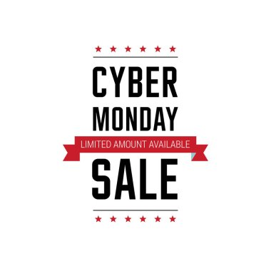 banner of cyber monday sale