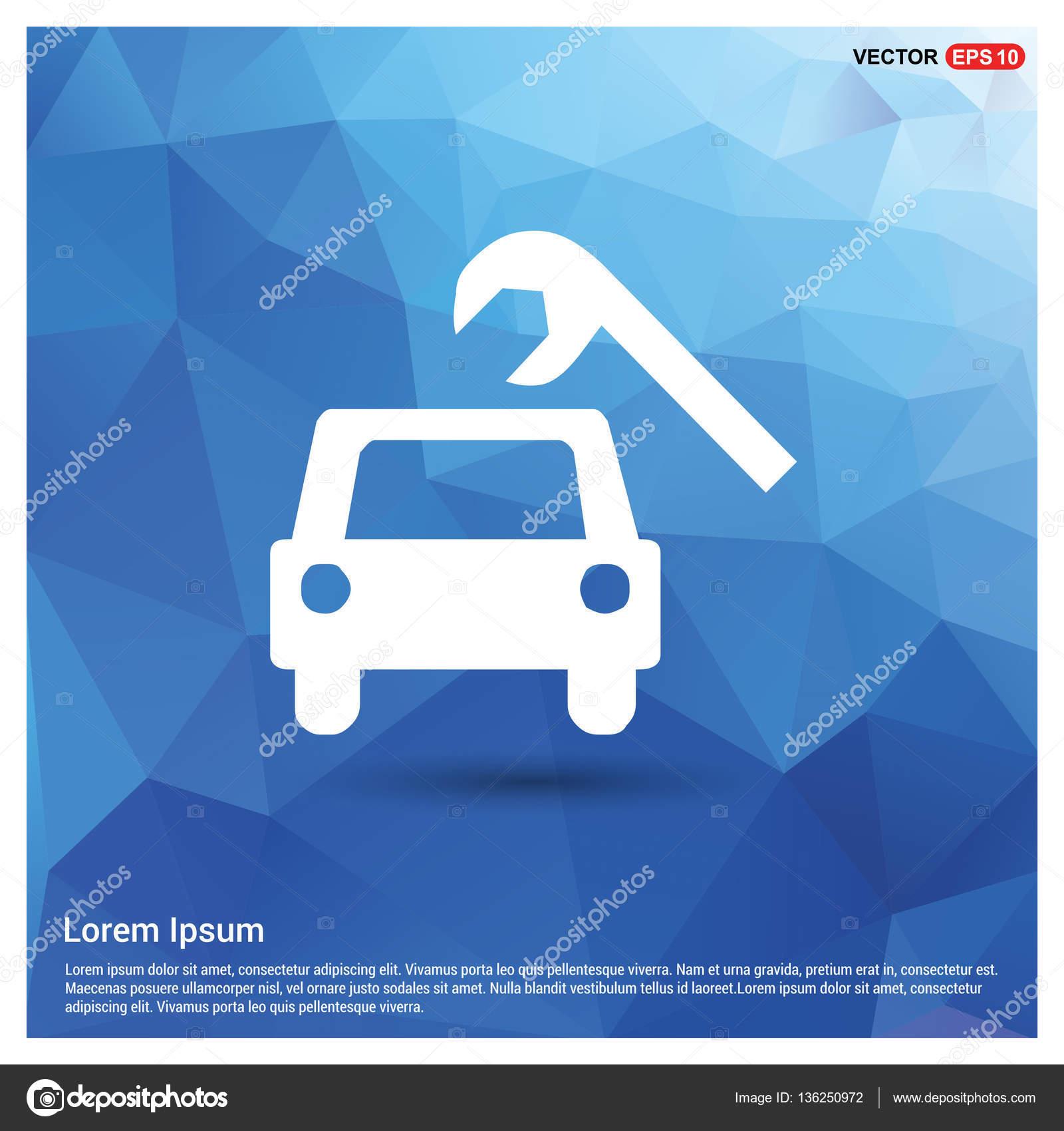 Design car repair workshop - Car Repair Workshop Icon Stock Vector 136250972