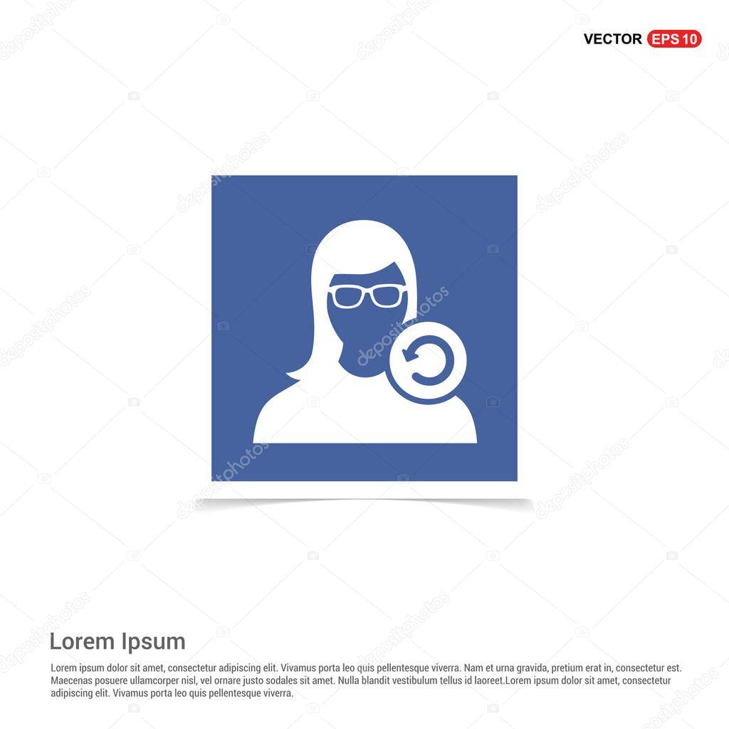 human silhouette icon