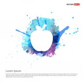 Photo apple fruit icon