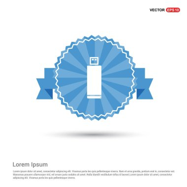 flash drive flat icon