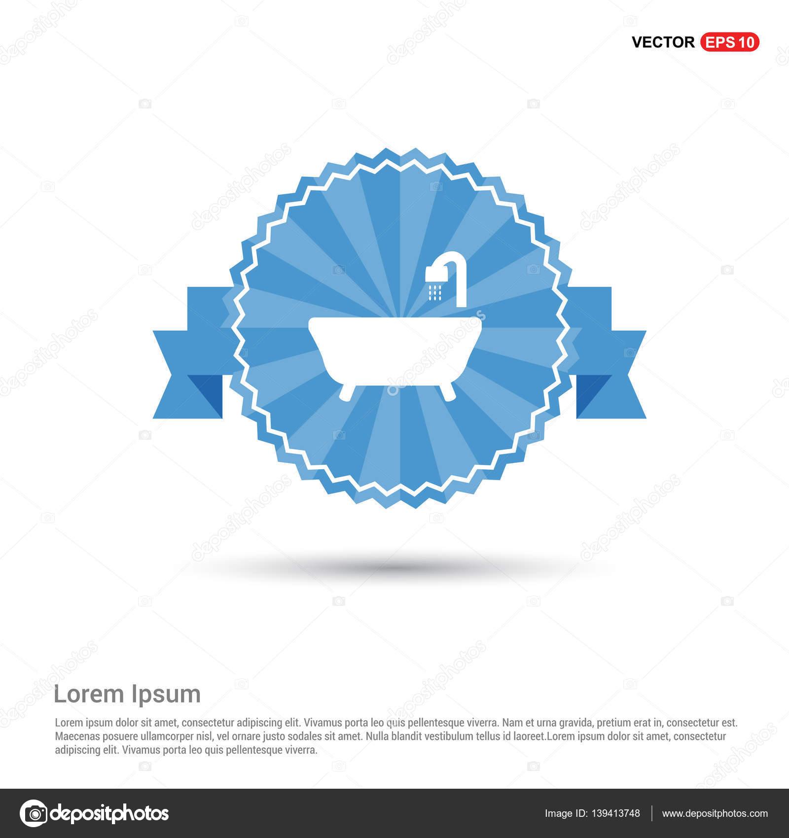 tub and shower icon — Stock Vector © ibrandify #139413748