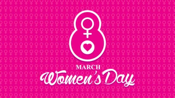 congratulation with 8 march Women day