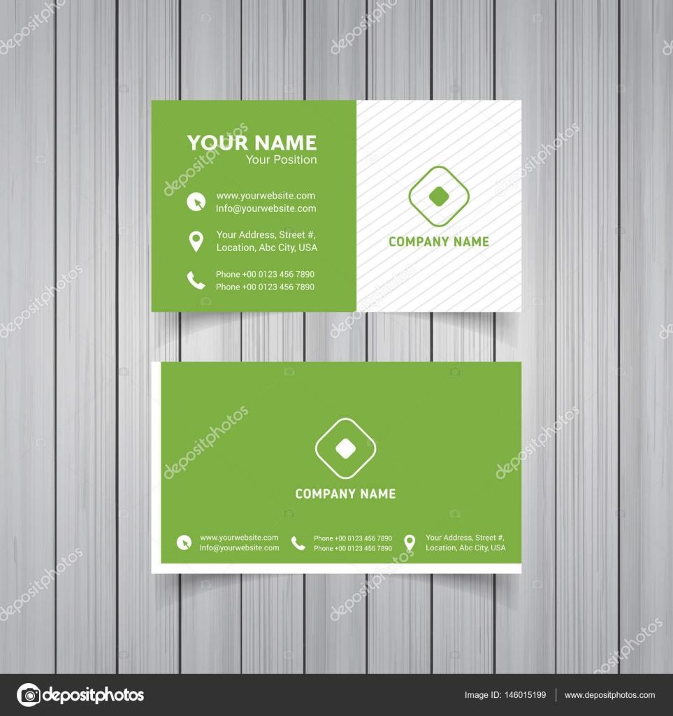 tarjetas de visita de plantilla — Vector de stock © ibrandify #146015199