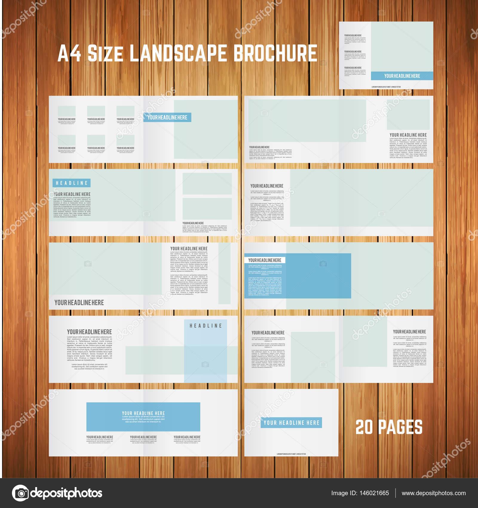 Buch-Cover und Seiten-Vorlage — Stockvektor © ibrandify #146021665