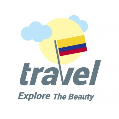 Colombia national flag logo