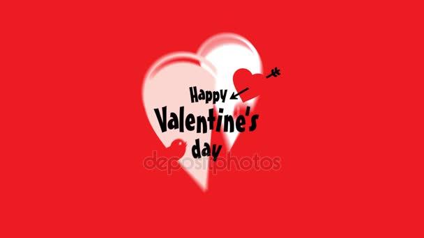 saluto di festa di San Valentino