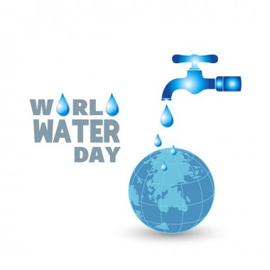 World Water Day card