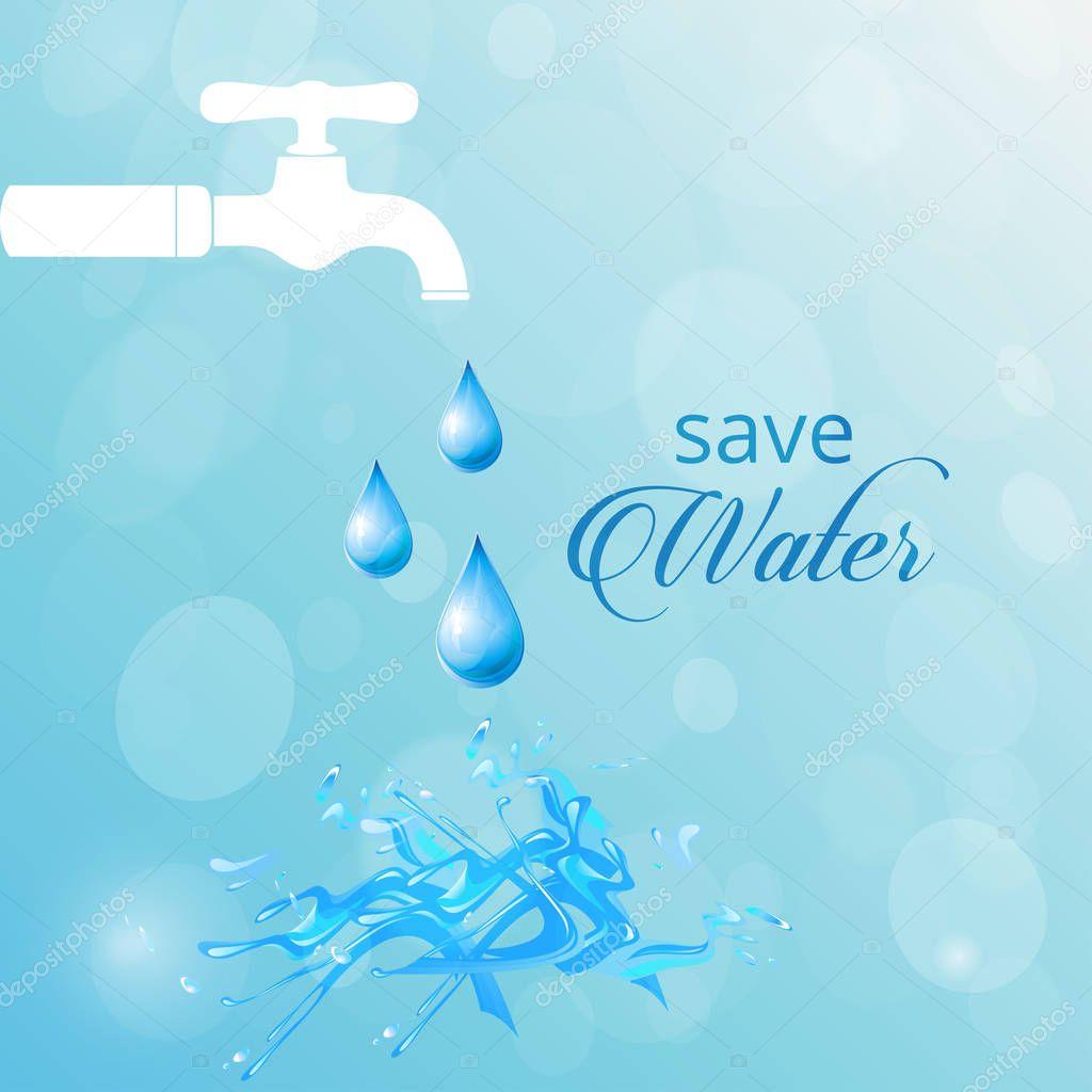 World Water Day card