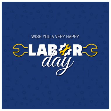 Happy Labor Day postcard