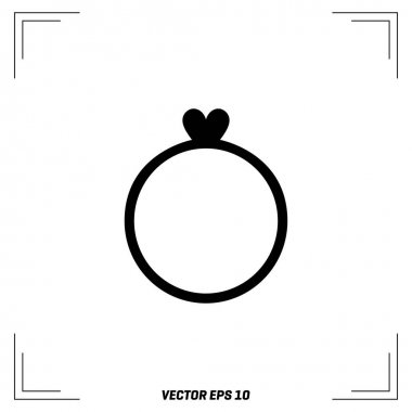 Ring for Ladies flat icon