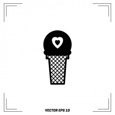 heart shaped freeze ice cream