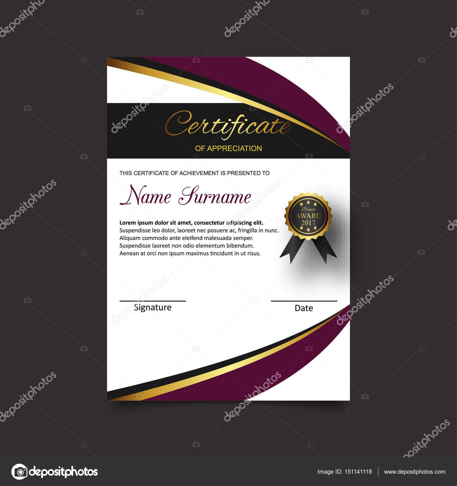Ziemlich Business Zertifikat Vorlage Ideen - Beispiel Anschreiben ...