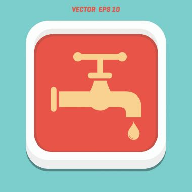 Save water sign icon