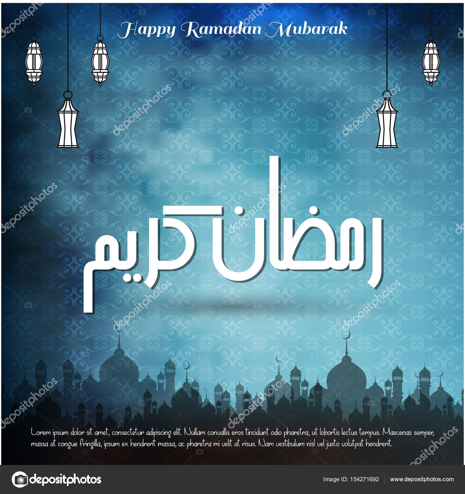 Ramadan mubarak greeting card stock vector ibrandify 154271692 ramadan mubarak greeting card stock vector 154271692 m4hsunfo Choice Image