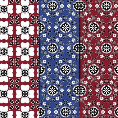 Sindhi Ajrak Pattern Collection