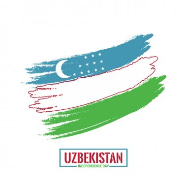 Uzbekistan Independence Day card