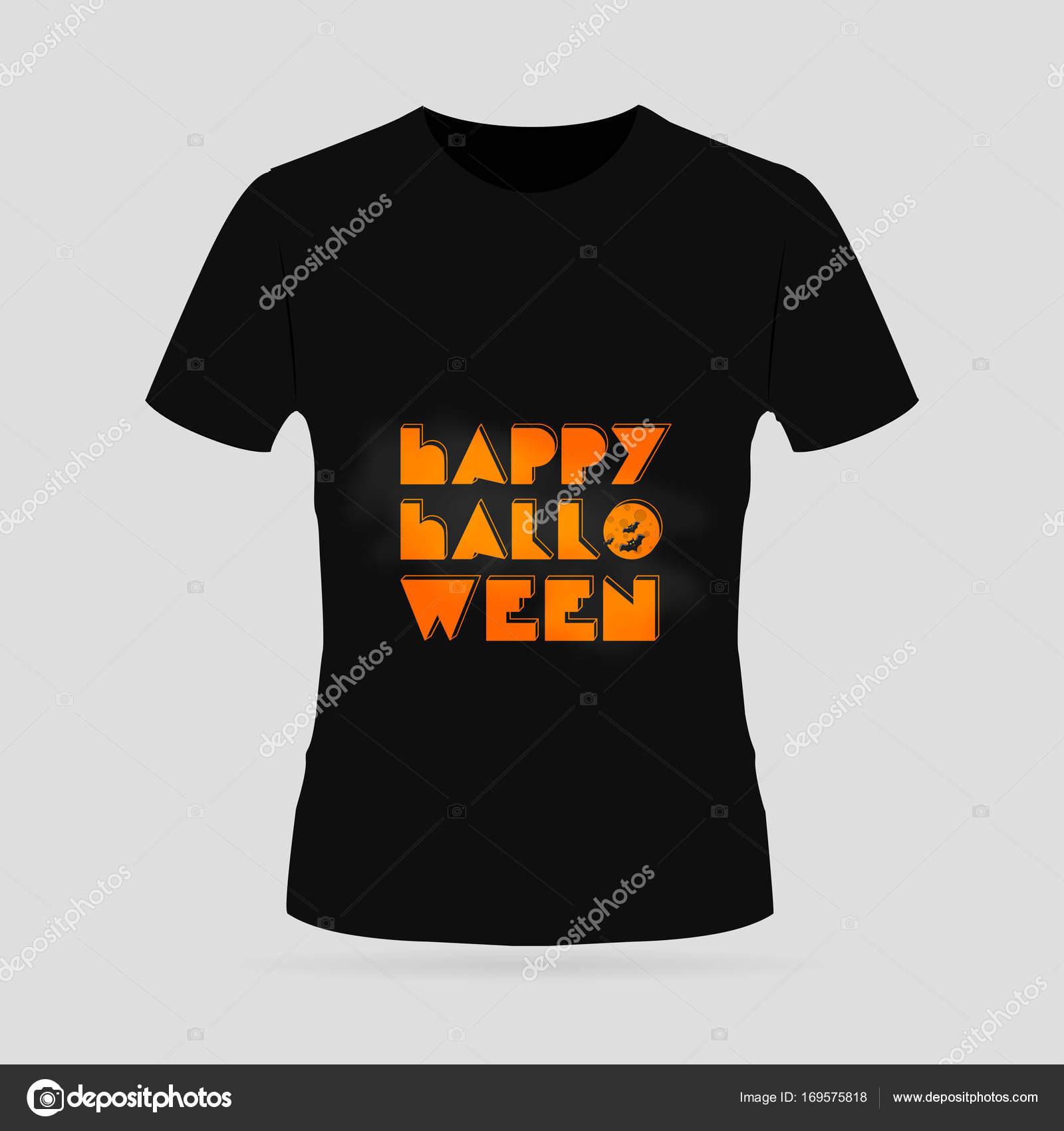 259e4285ec7f Tričko s designem stylu halloween — Stock Vektor © ibrandify  169575818