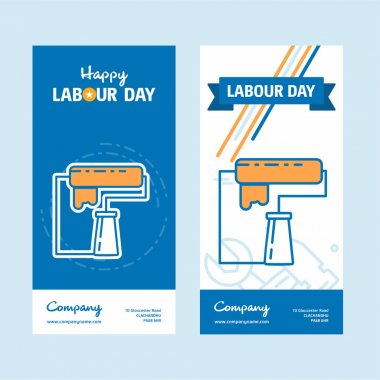 Happy Labour day design