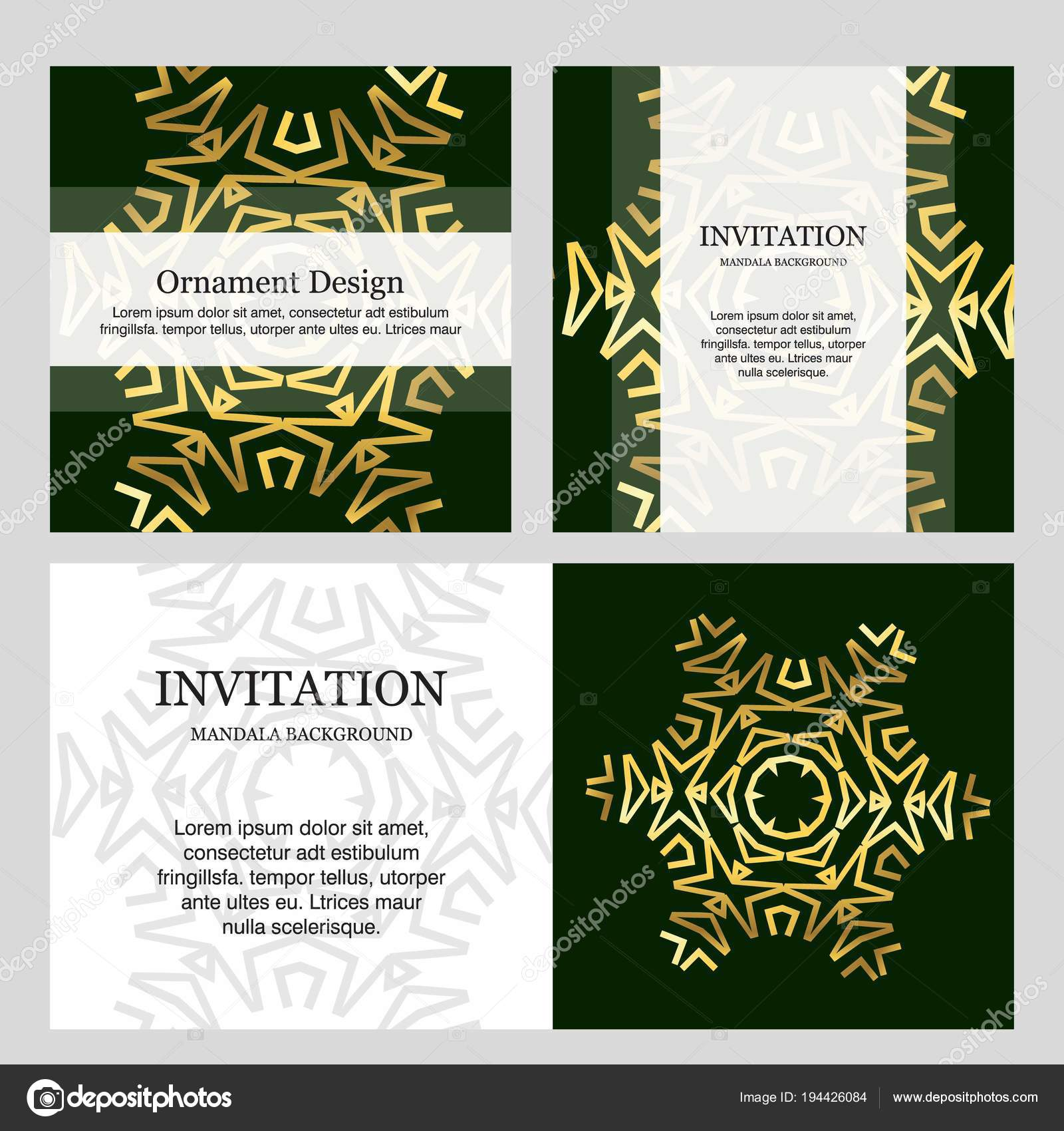 Wedding Ceremony Card Elegant Design Typography Vector Illustration