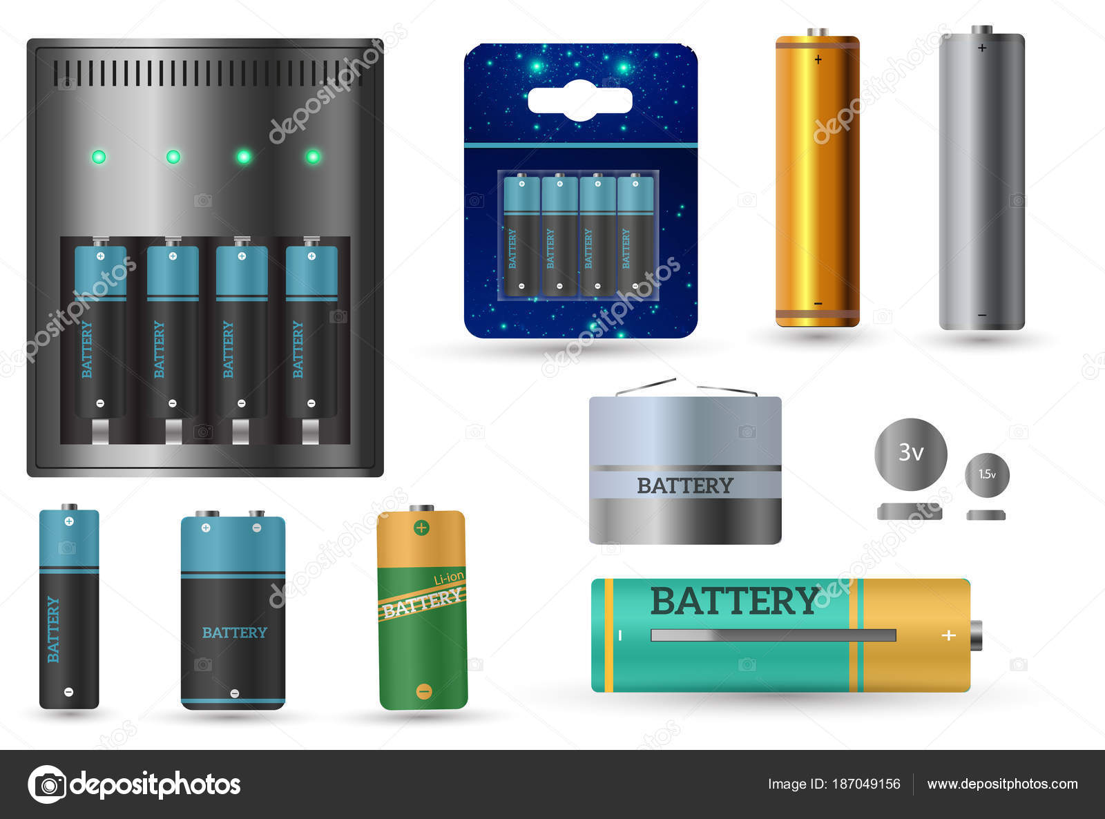 What are battery batteries finger, and what is it 3