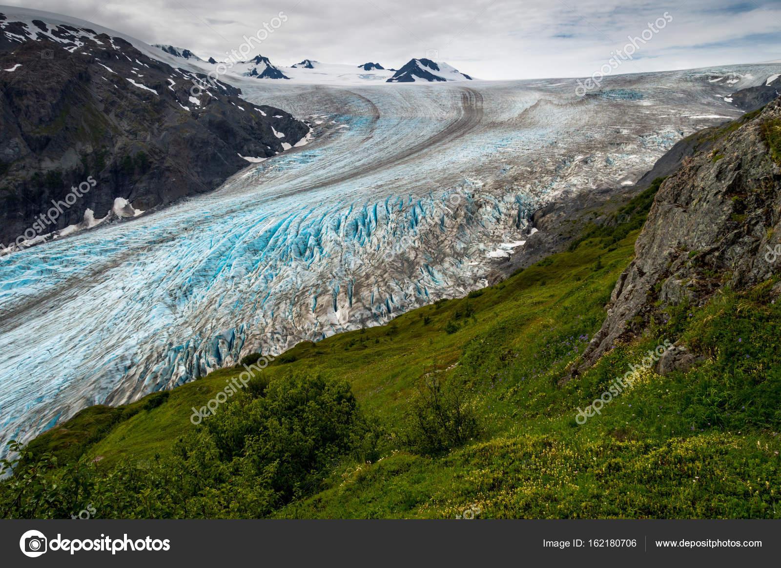 exit glacier seward alaska stock photo a frankazoid com 162180706