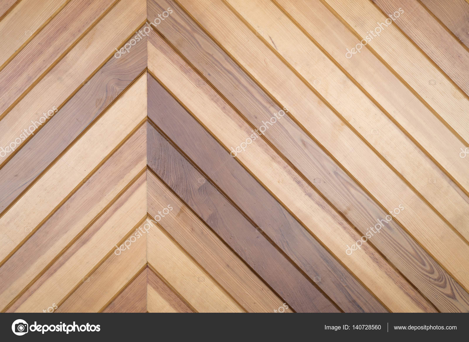 Wood wall pattern modern interior of building u stock photo