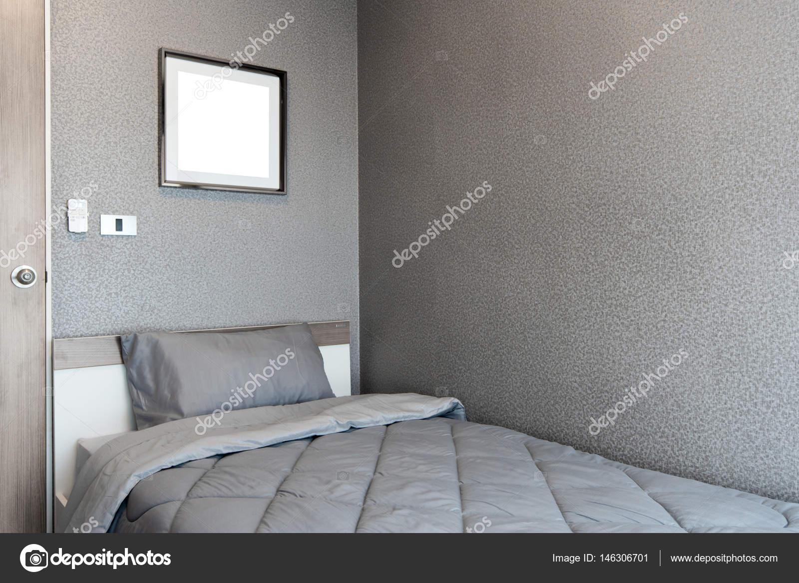 modernes schlafzimmer design, modernes schlafzimmer design, einzelbett — stockfoto © kitthanes_r, Design ideen