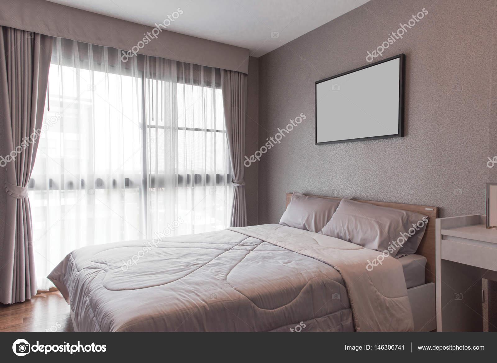 modernes schlafzimmer design, modernes schlafzimmer design, doppelbett — stockfoto © kitthanes_r, Design ideen