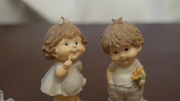 hračky little angels chlapec a dívka