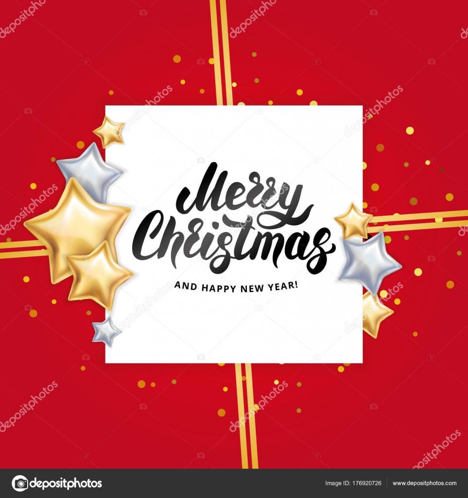 Gold star Merry Christmas — Stock Vector © PirinaIrina #176920726