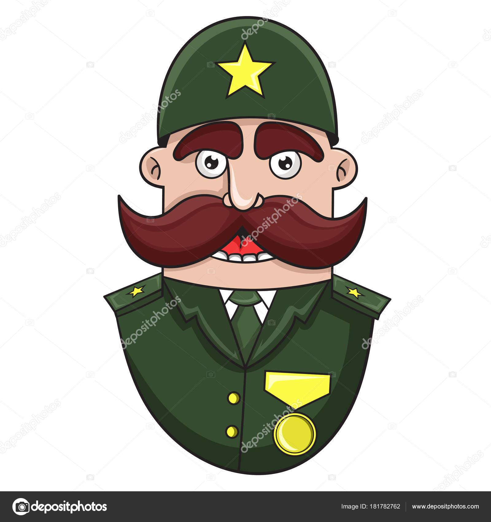 General Store Stock Photos General Store Stock Images: мультфильм военный Генеральный, векторные иллюстрации
