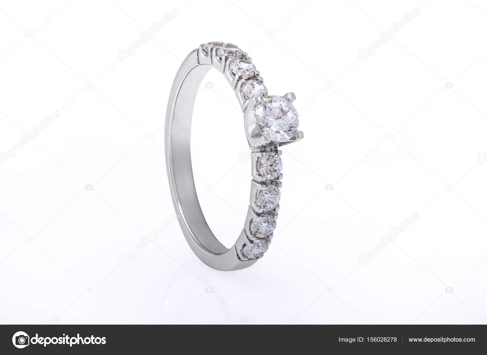 f0df0ebeaf5b Белого золота свадьба, обручальное кольцо с бриллиантами на белом ...