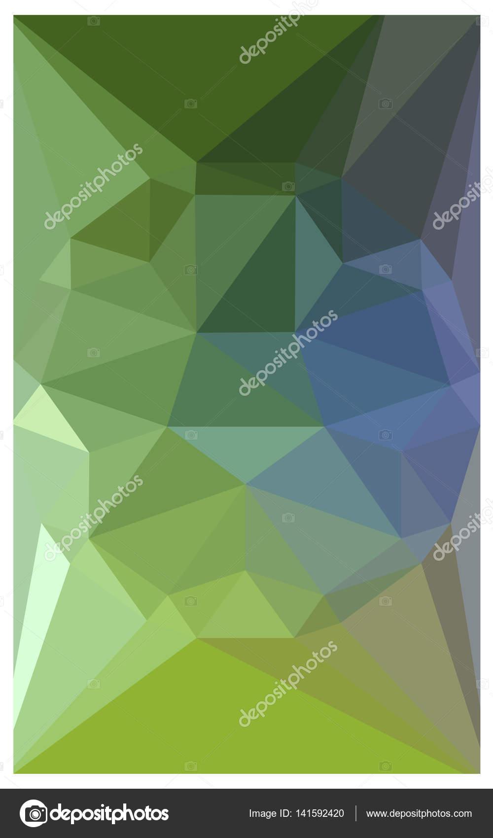 Sfondo Verde Bellissimo Azzurro Con Un Grande Diamante Foto