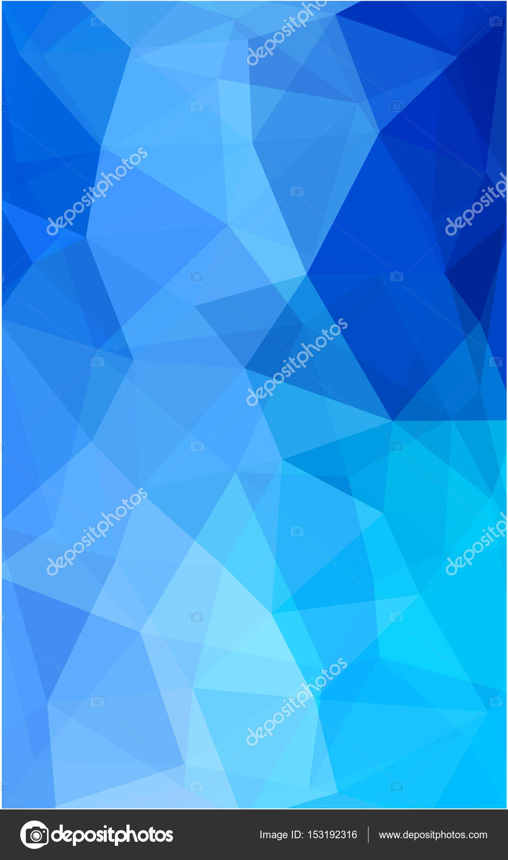 Light Blue Polygon Abstract Background Polygonal Geometric