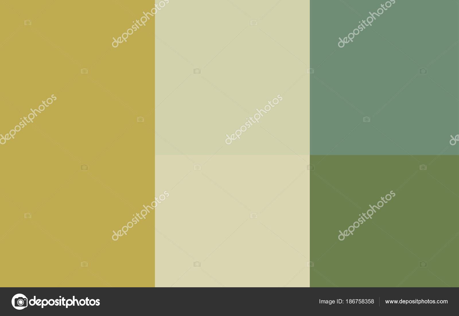 Vert Clair Fond Jaune Vector Avec Palette Lumineuse Image