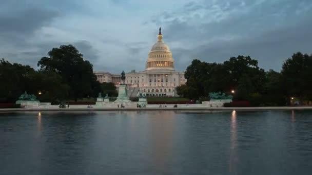 US Capitol Building timelapse