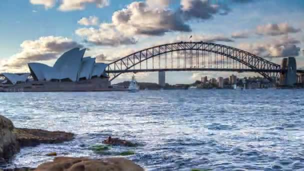 Timelapse view of Sydney Harbour