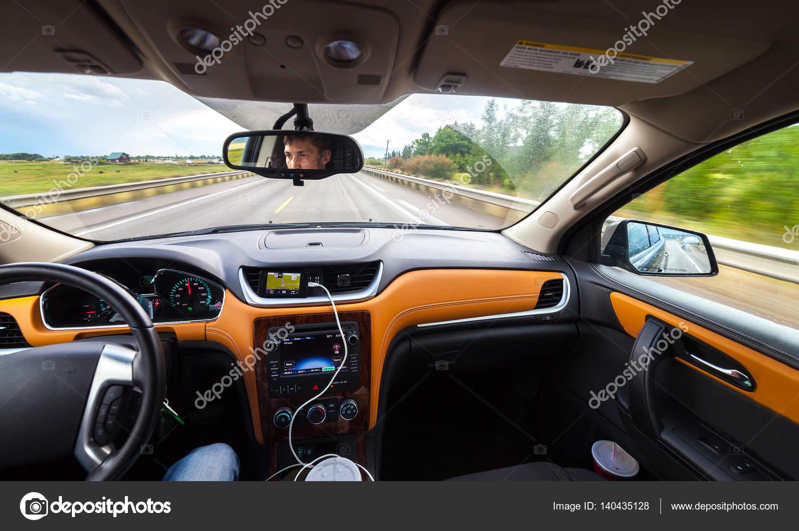 View From Luxury Car Inside Stock Photo C Pozdeevvs Gmail Com