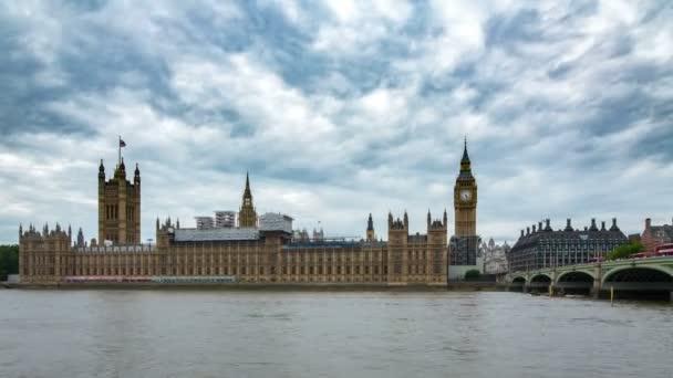 Big Ben und der Palace of Westminster-Zeitraffer