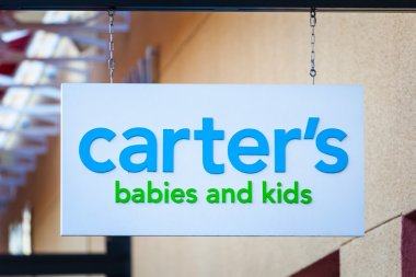LAS VEGAS, NEVADA - August 22nd, 2016: Carter's Logo On Store