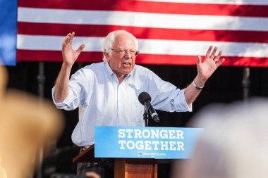 LAS VEGAS, NV - November 6, 2016: Bernie Sanders Campaigns