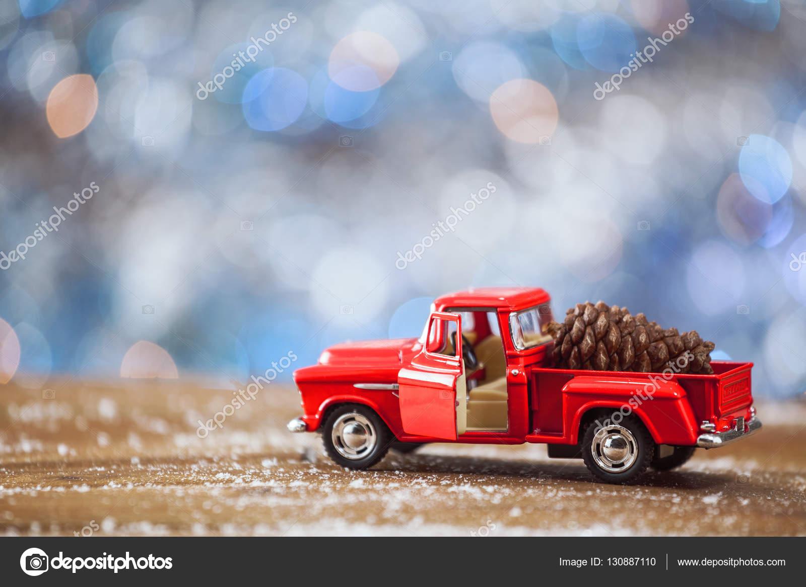 Navidad Carros Carro De Juguete De Navidad Con Sobre Mesa De