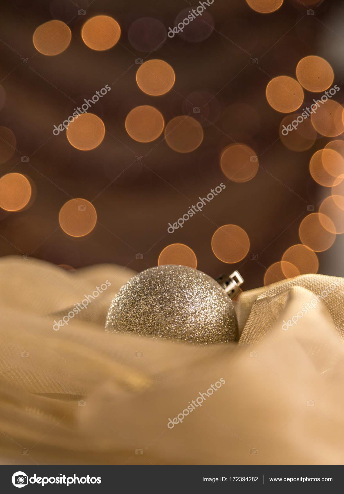 Vertikale Abstrakte Warme Gold Glitter Funkeln Christbaumschmuck