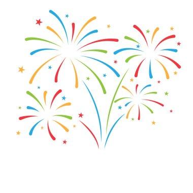 firework background for celebration